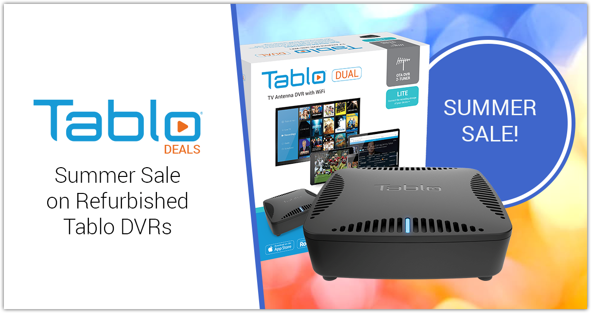 Tablo Summer Sale 2020
