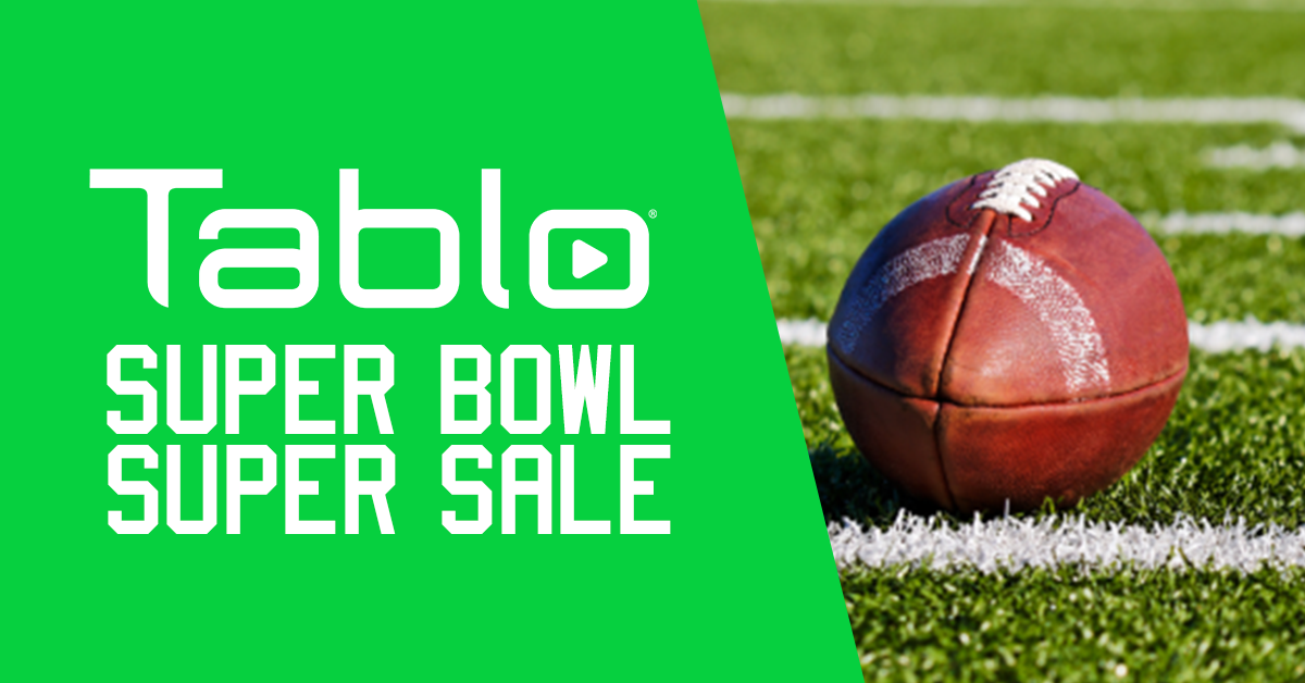 Tablo Super Bowl Super Sale 2020