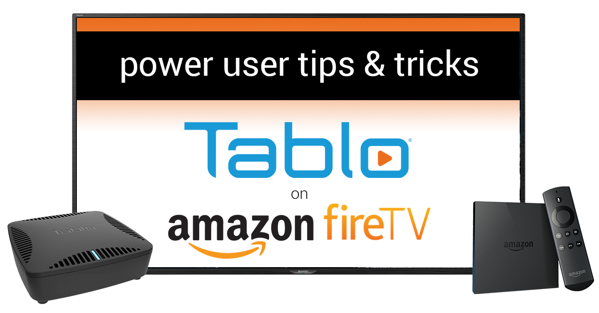 Tablo DVR How-To: Four Tips for Using the Tablo App on