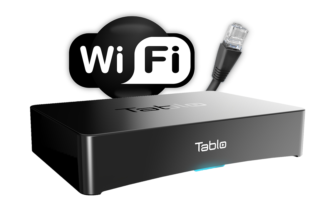 Setup Networking Over The Air Ota Dvr Tablo Wireless Cable Router Wiring Diagram Get Free Image About Connecting Via Ethernet Or Wifi