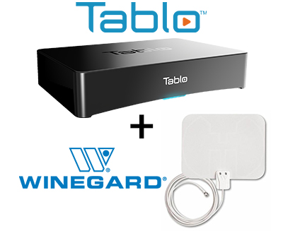 Tablo and Winegard antenna