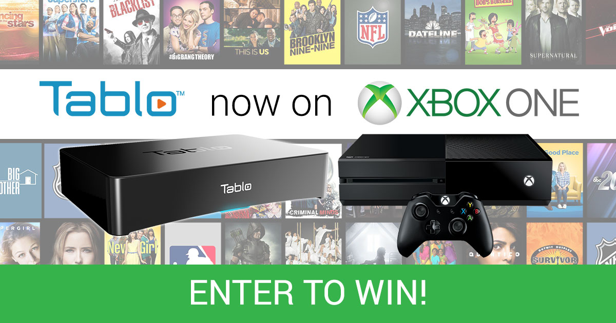 Tablo Xbox One Giveaway