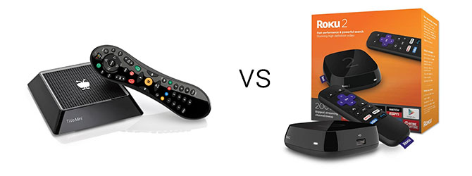 TiVo Mini vs. Roku