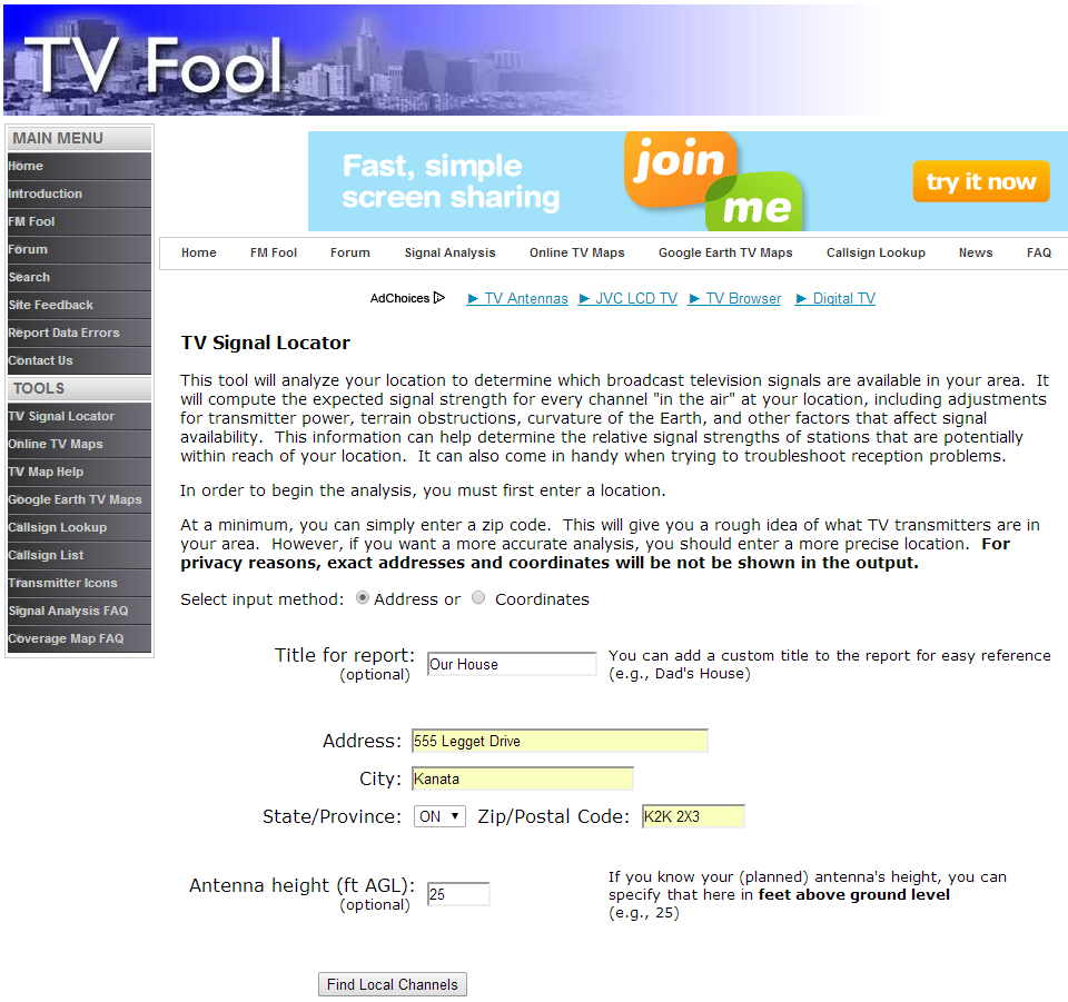 What Channels Can I Get? - Introducing the Tablo TV Signal Locator