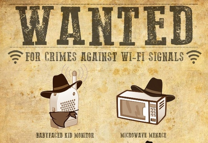 Wifi Wanted Poster