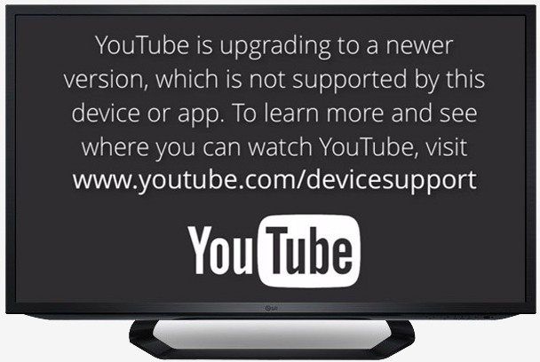 youtube not supported