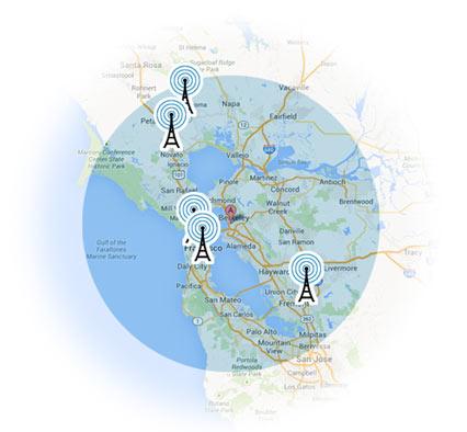 Hdtv Antenna Map My Blog